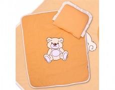 Set oranžový Teddy Bear