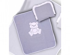 Set šedý Teddy Bear