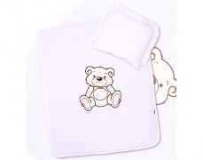 Set bílý Teddy Bear