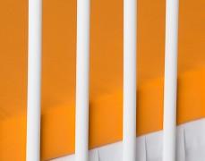 Bavlněné prostěradlo oranžové, jersey