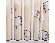 Volánek pod matraci béžové ovce