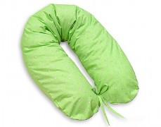 Relaxační polštář zelená květinka
