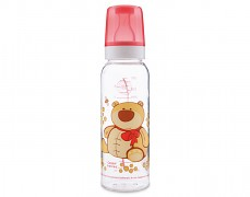 Lahev červená Happy Animals 250ml