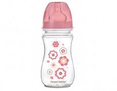 Lahev antikoliková růžová Newborn Baby 240ml