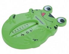 Koupací teploměr zelená žabka