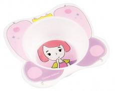 Plastová miska růžová My Dream
