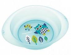 Plastová miska modrá Sova