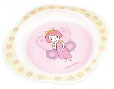 Plastový talíř růžový My Dream