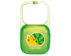 Pouzdro na dudlík zelené Happy Garden
