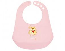 Bryndák s kapsou růžový Happy Animals