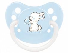 Dudlík modrý Little Cutie silikonový