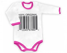 Body růžové 100% ORIGINÁL