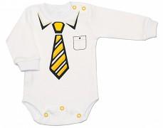 Body se žlutou kravatou