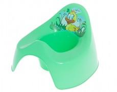 Dětský nočník zelený Káčátko