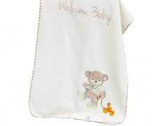 Deka béžová Welcome Baby