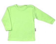 Kojenecká košilka zelenkavá