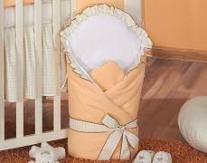 Zavinovačka oranžová kostička s mašlí