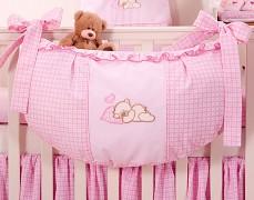 Vak na hračky růžový Snílek