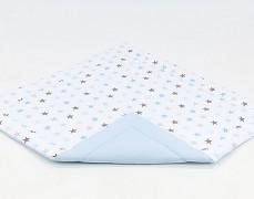 Podložka modro-šedé hvězdičky (do stanu)
