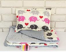 Set růžový elephant