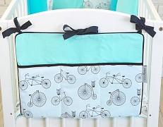 Kapsář tyrkysové bicykly