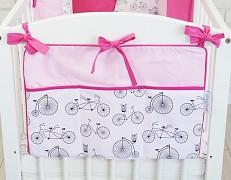 Kapsář růžové bicykly