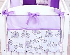 Kapsář fialové bicykly
