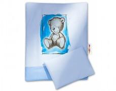 Set modrá Teddy