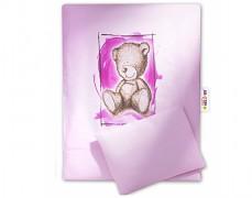Set růžová Teddy