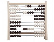 Kuličkové dřevěné počítadlo