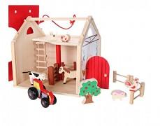 Dřevěný domek farma