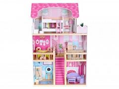 Dřevěný domek pro panenky Malinová residence
