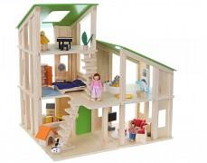 Dřevěný domek pro panenky, modulový
