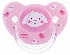 Kojenecké šidítko růžové Sweet Fun silikonové