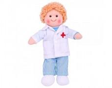Látková panenka doktor