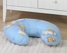 Kojící polštář modrý se spícími medvídky