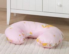 Kojící polštář růžový se spícími medvídky
