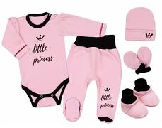 Soupravička růžová Little Princess