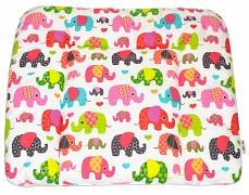 Přebalovací podložka růžová sloni