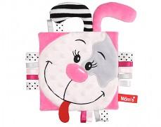 Mazlík šustík růžový pejsek
