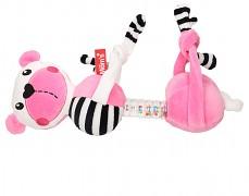 Plyšová závěsná hračka růžový medvídek