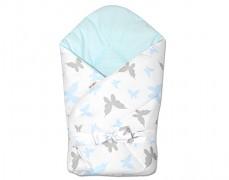 Zavinovačka modrá se stuhou motýlci