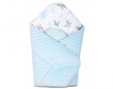 Zavinovačka modrá motýlci, oboustranná