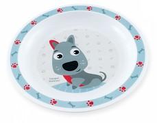 Plastový talířek modrý Cute Animals