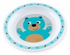 Plastový talířek tyrkysový Cute Animals