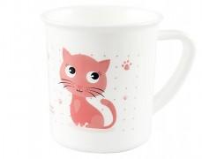 Plastový hrneček růžový Cute Animals