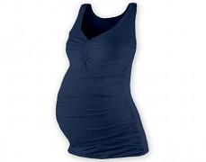 Těhotenské tm.modré tílko