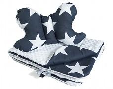 Set modrá Bigstars, stabilizační polštářek