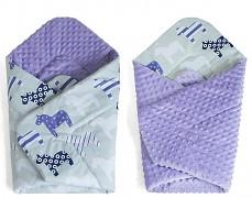 Zavinovačka fialová koníci, oboustranná