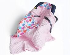 Dětská deka plameňáci